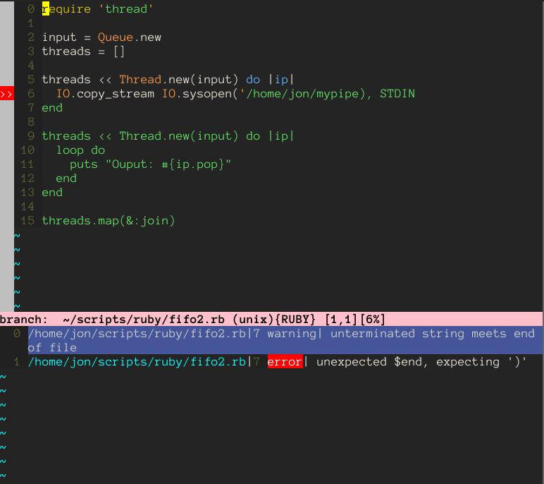 Using Vim as a multi-language IDE